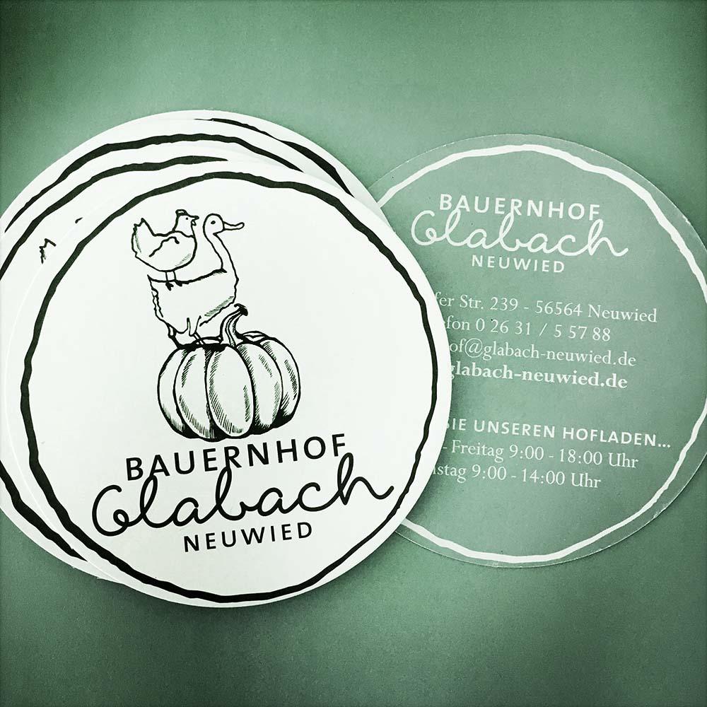 Logo & Branding für Bauernhof Glabach Neuwied